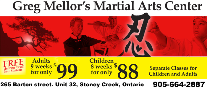 Mellor Martial Arts Karate Tai Chi Stoney Creek Ontario